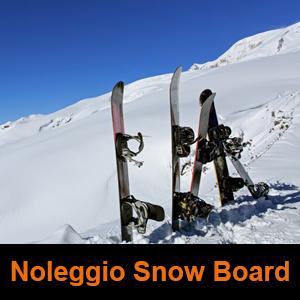 sport professional noleggio snow board
