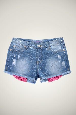 shorts strass