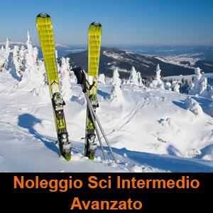 sport professional noleggio sci intermedio avanzato
